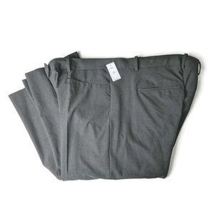 Gap Modern Boot Pants Womens 20 L Gray Flat Front